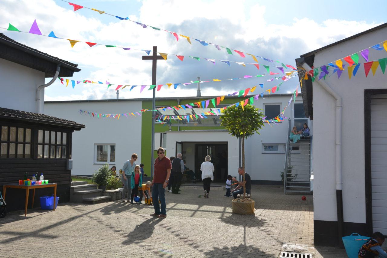 Festwochende zur Eröffnung des neuen Gemeindezentrums