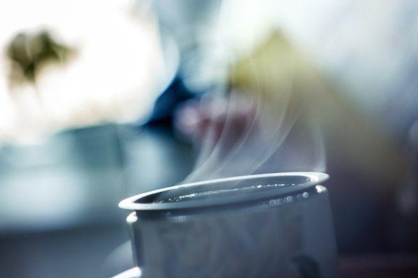 Dampf Tee Kaffee Duft Heiße Getränke Aromatischen