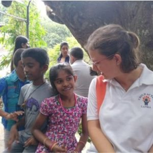 Ines Prokoph in Sri Lanka