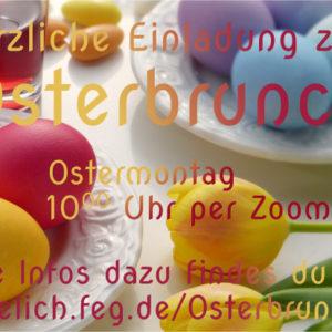 Einladung zum Osterbrunch