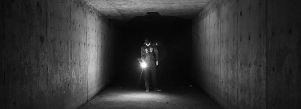 Taschenlampe/Licht im Dunkeln
